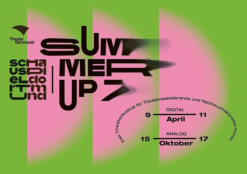 """""""Summer Up"""" Theaterfestival zeigt online Arbeiten junger Produktions- und Assistenz-Teams"""