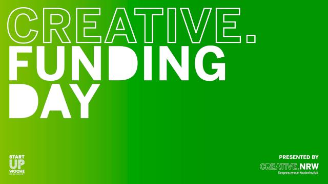 CREATIVE.Funding Day 2021 – 09. Juni 2021