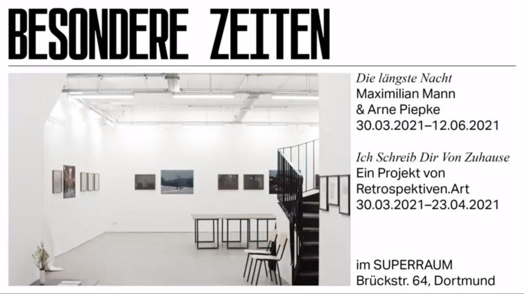 Ausstellungsvideos zu BESONDERE ZEITEN online!