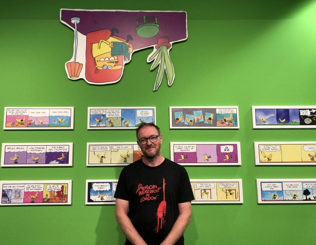 Holga Rosen im schauraum: comic + cartoon